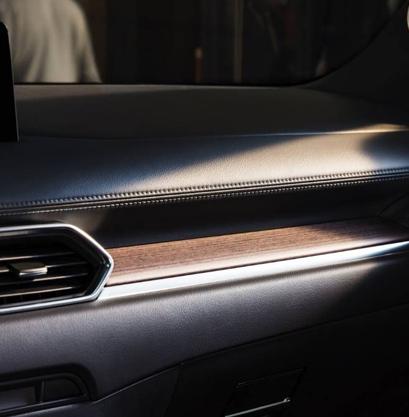 2021 Mazda CX-5 crossover suv wood layered trim