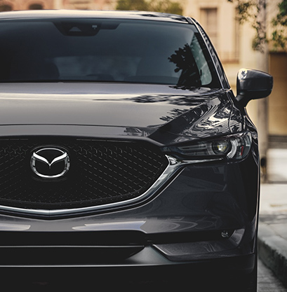 2021 Mazda CX-5 fuel efficient SUV front view