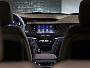 2020 Cadillac XT6 navigation screen