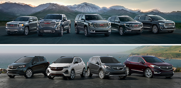 Buick and GMC Vehicles