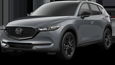 Gray 2021 Mazda Carbon Edition