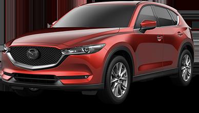 Red 2021 Mazda CX-5 Grand Touring Reserve