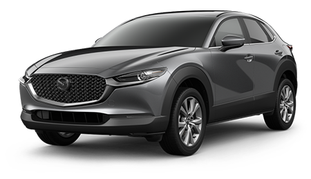 Gray Mazda CX-30 Preferred