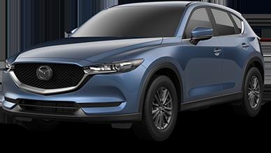 Blue 2021 Mazda CX-5 Sport