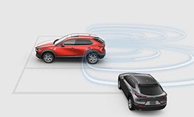 Mazda CX-30 rear cross traffic alert