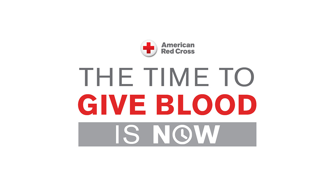 American Red Cross - The Time To Give Blood Is Now.