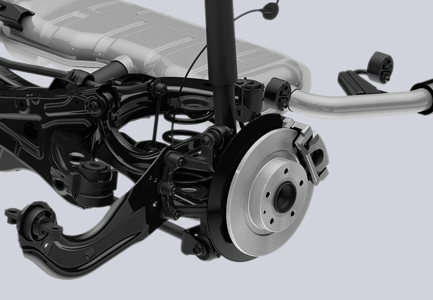Mazda skyactive suspension