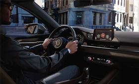 Mazda6 interior design