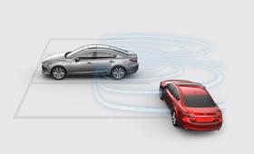 2021 Mazda6 rear cross traffic alert