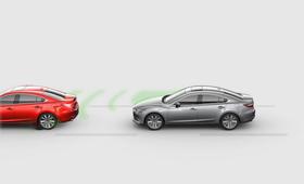 2021 Mazda6 Smart break support