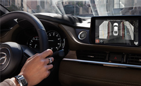 2021 Mazda6 360 view monitor