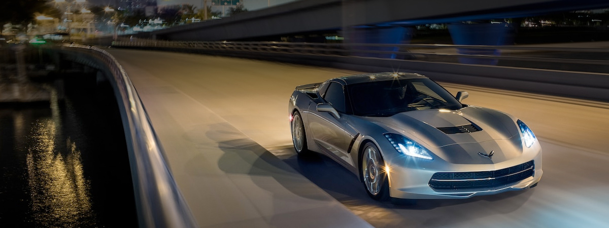 The 2018 Corvette Stingray at Bergstrom Madison
