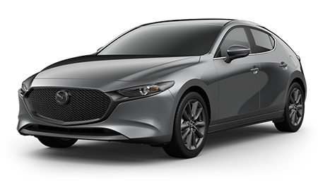 Gray Mazda3 Hatchback Select