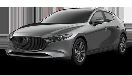 Gray Mazda3 Hatchback Preferred