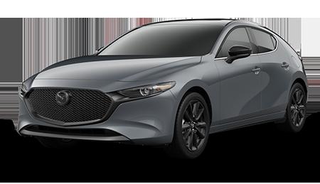 Dark Gray Mazda3 Turbo Hatchback