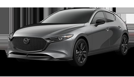 Dark Gray Mazda3 Turbo Premium Hatchback
