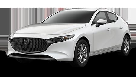 White Mazda3 Hatchback 2.5 S