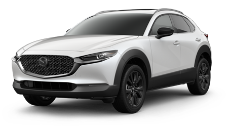 White CX-30 2.5 Turbo Premium