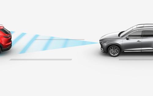 2021 Mazda CX-5-radar cruise control with stop-go illustration