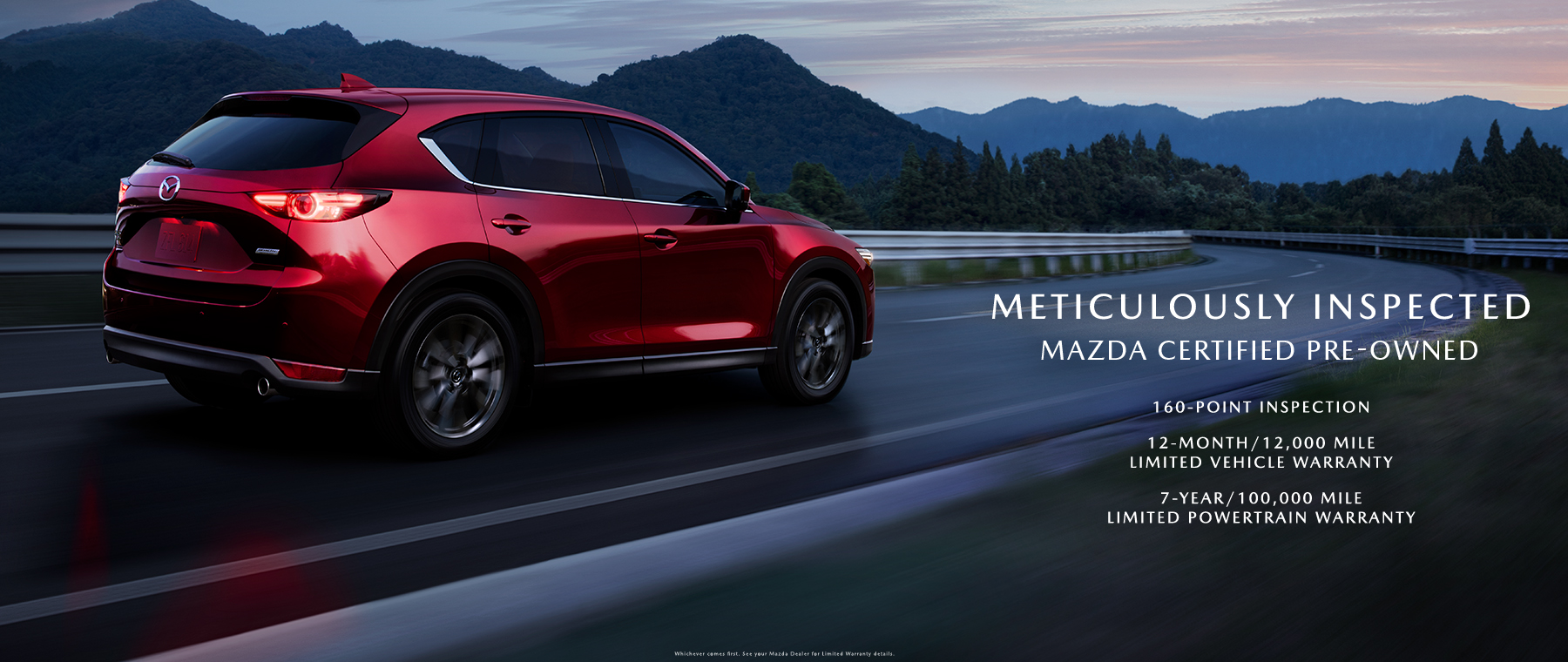 Mazda CPO dealers on the 2020 CX-9, CX-5 and Mazda3 Sedan