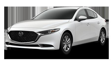 White Mazda3 2.5 S Sedan