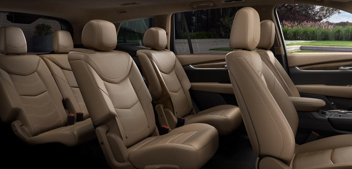 2020 Cadillac XT6 interior seats