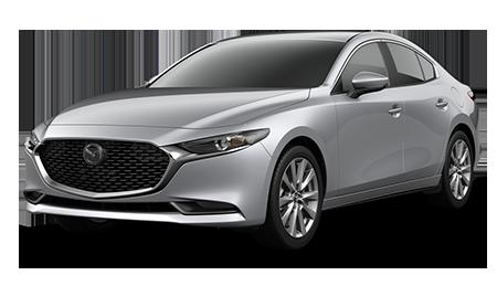 Silver Mazda3 Select Sedan