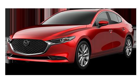 Red Mazda3 Preferredt Sedan
