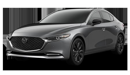 Dark Gray Mazda3 Turbo Premium Sedan