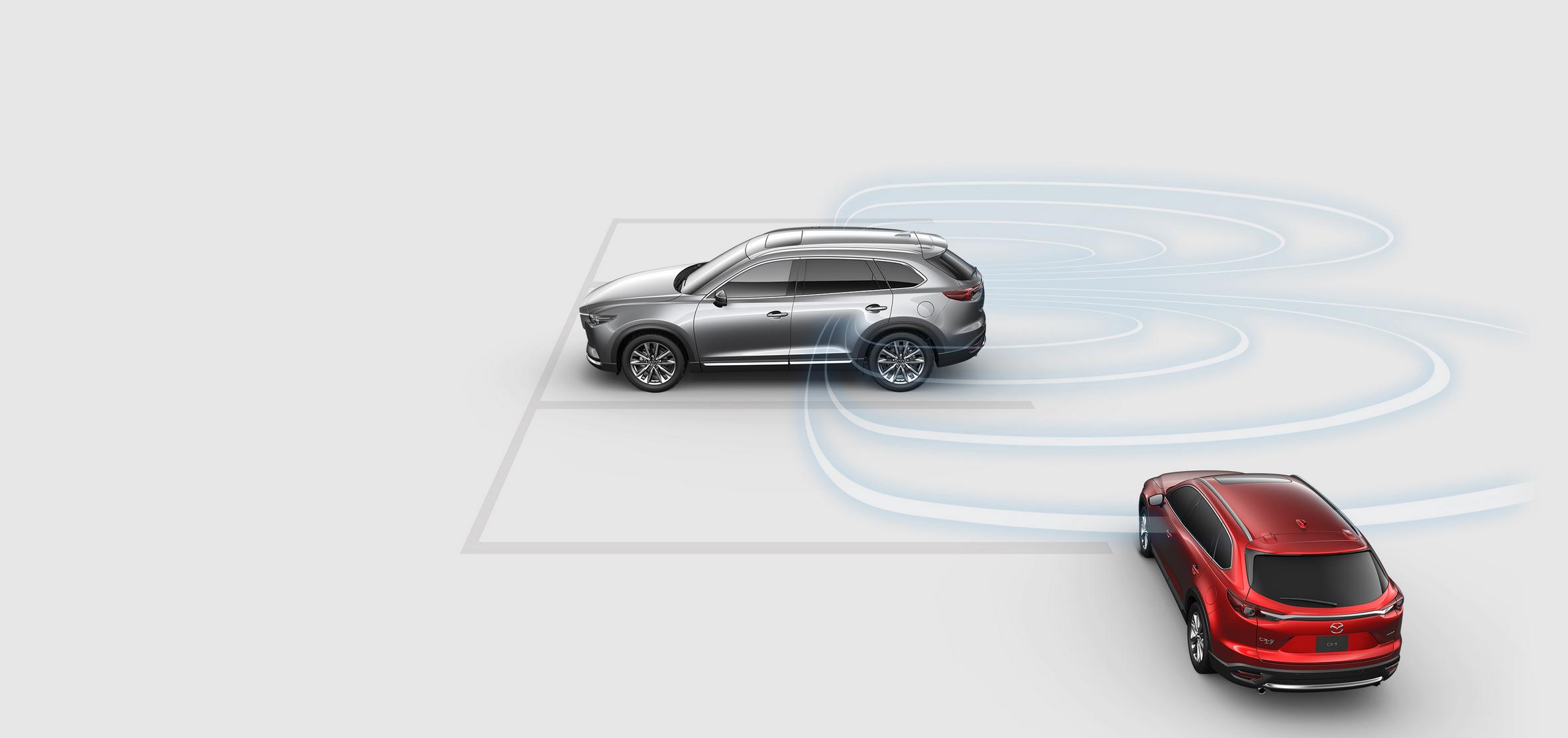 Mazda CX-9 Blind Spot Monitoring