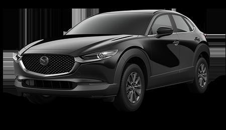 Black Mazda CX-30 2.5S