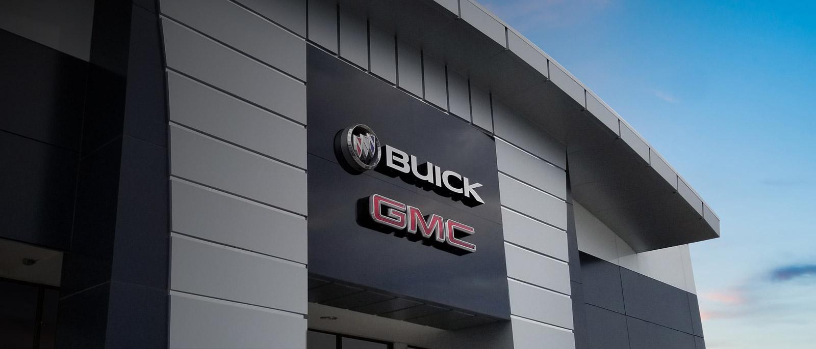 Buick GMC Dealership Exterior Shot