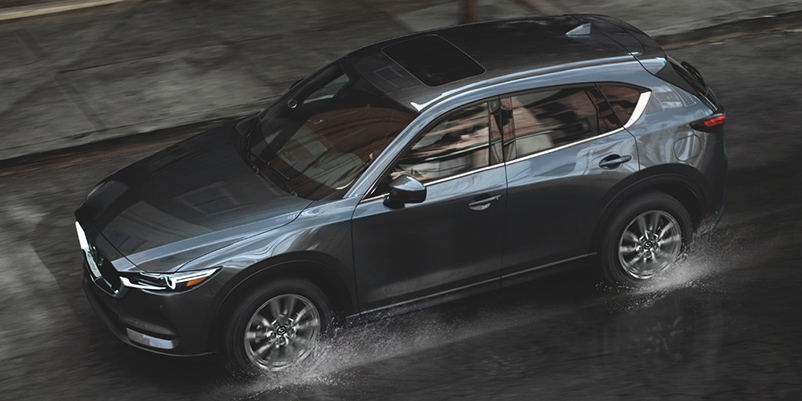 2021 Mazda CX-5 fuel efficient SUV top view