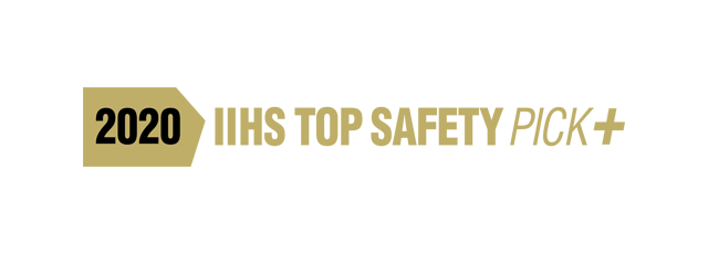 2020 IIHS TOP SAFETY PICK