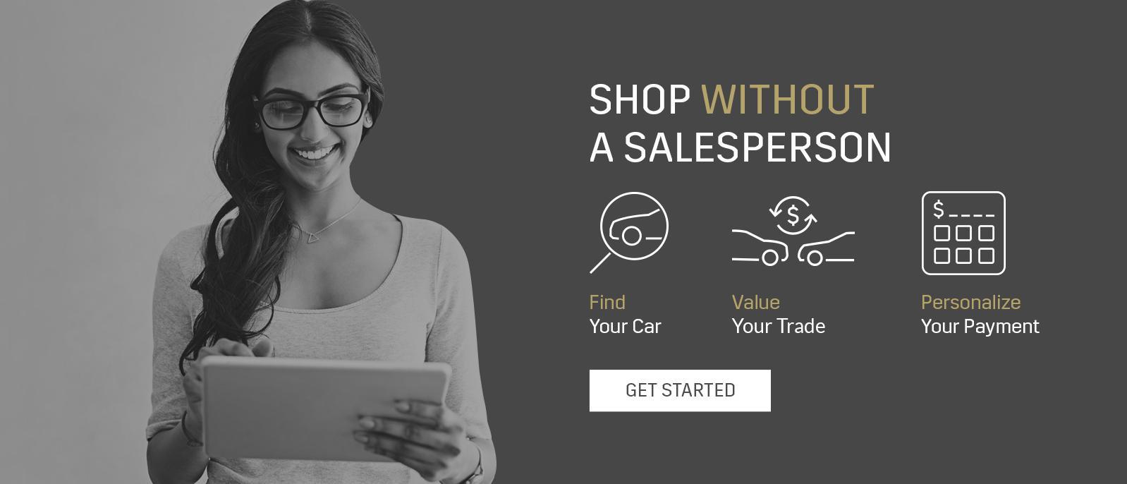 Shop Without a Sales Person