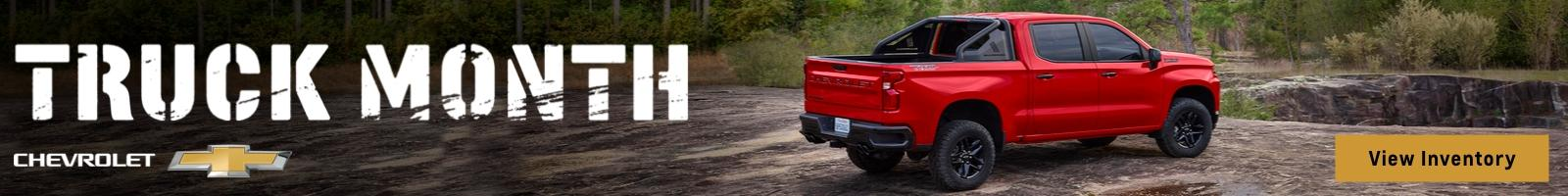 Chevy Truck Month.