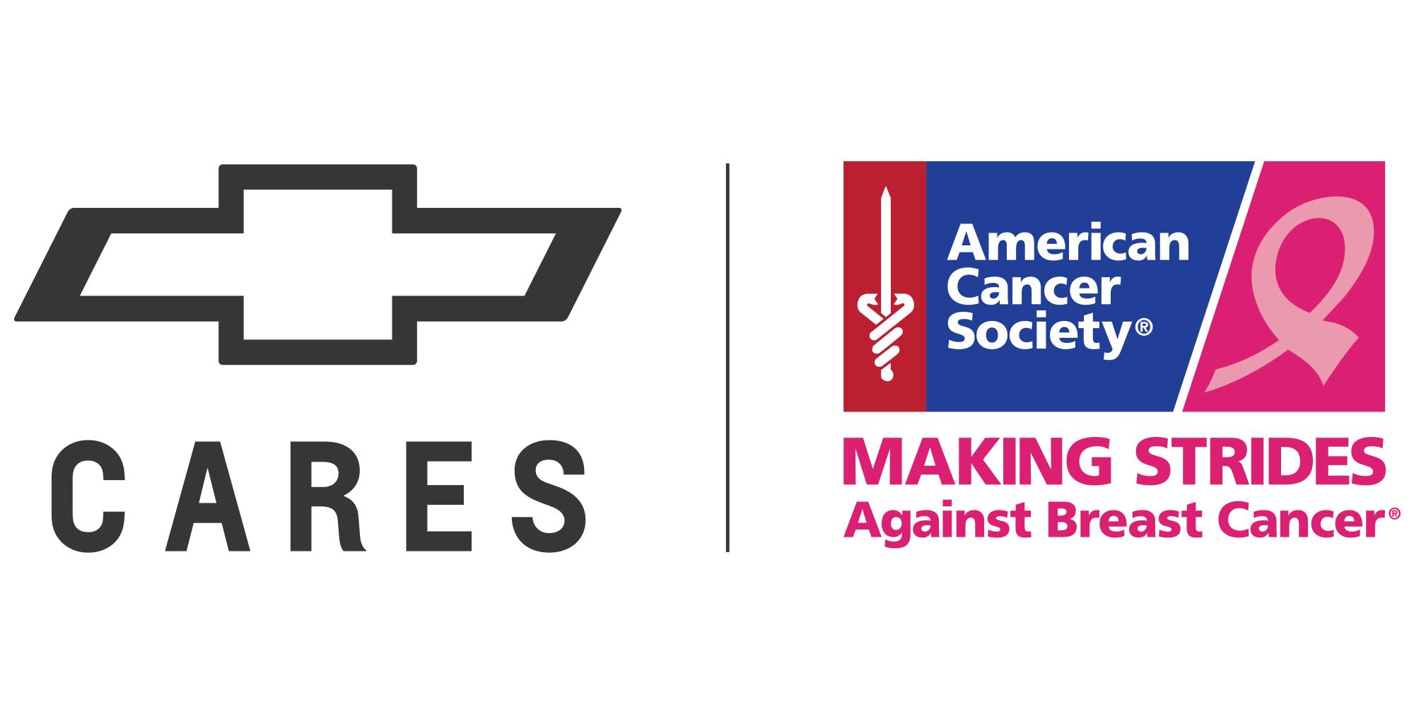 Chevy Cares - American Cancer Society Logo Lockup