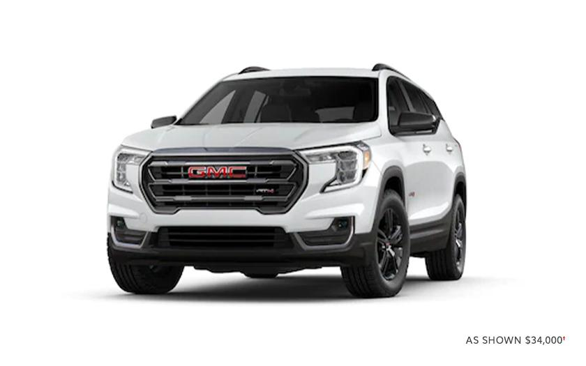 First-Ever 2022 Terrain AT4
