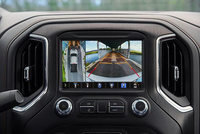 AVAILABLE 15 CAMERA VIEWS ON SIERRA 1500 AT4 AND SIERRA HD AT4