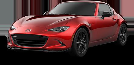 2021 Mazda MX-5 RF Red jelly