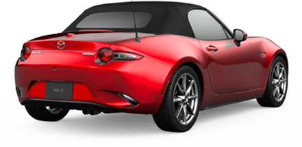 Mazda MX-5 Miata Grand Touring red jellybean