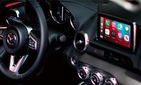 2021 Mazda MX-5 Miata Technology Apple Carplay