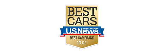 2021 Mazda MX5 RF Best Cars Award logo