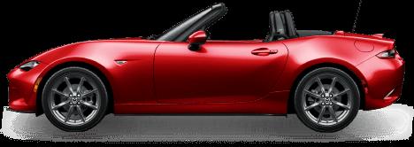 Red Mazda Model ND