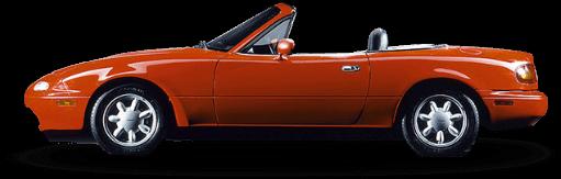 Red Mazda Model NA