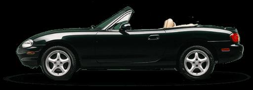 Black Mazda Model NB