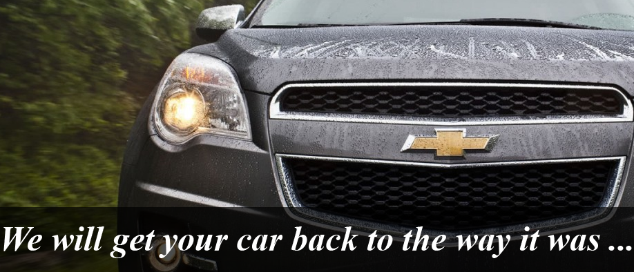 We will get your car back to the way it was...