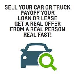 GET A REAL OFFER - FROM A REAL PERSON - REAL FAST. SELL YOUR CAR LOCALLY!