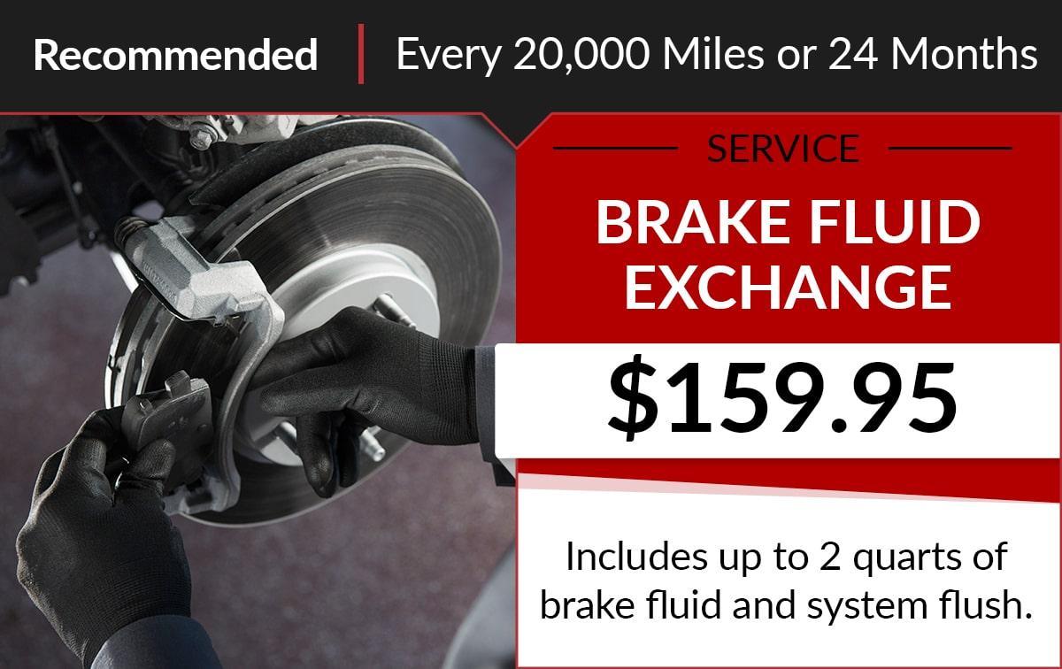 Buick GMC Brake Fluid Exchange Service Special Coupon