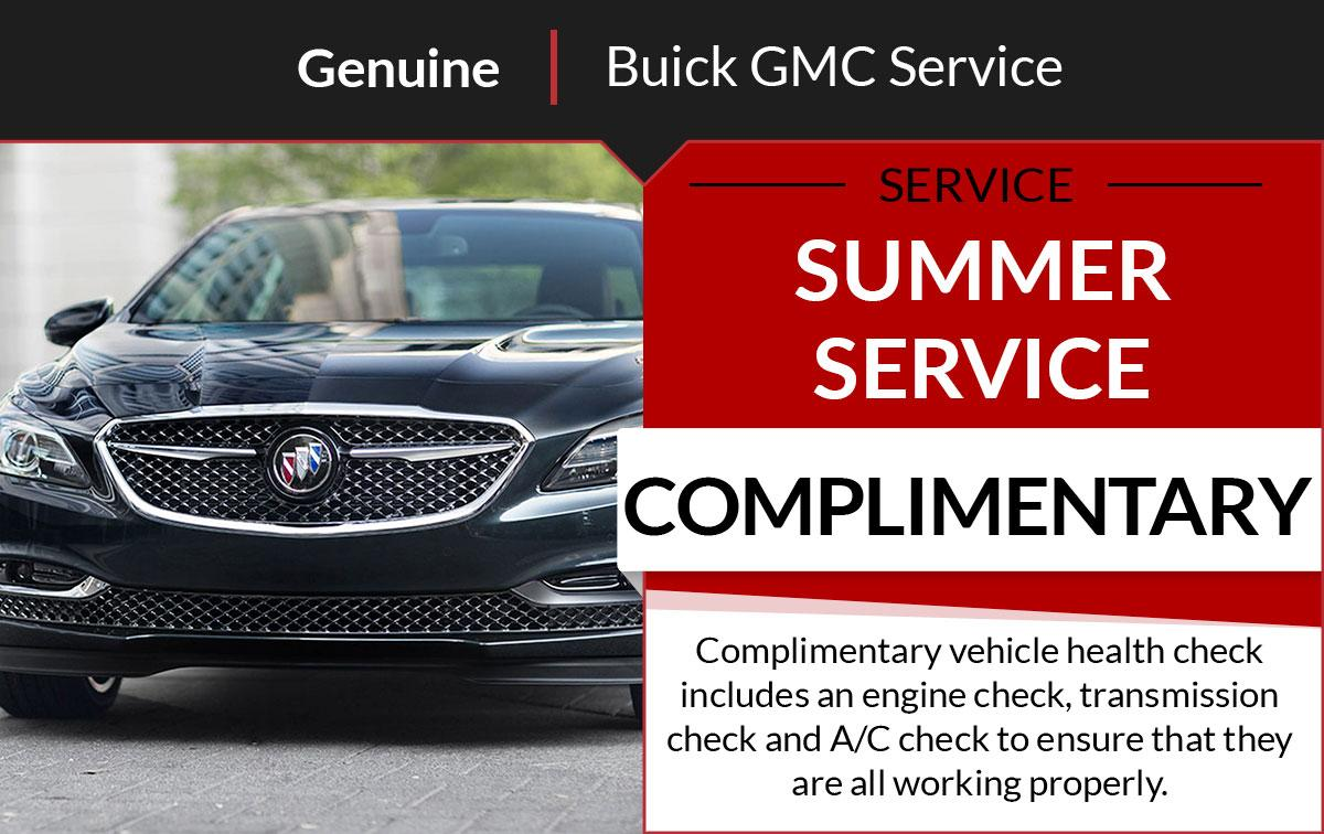 Buick GMC Summer Service Special Coupon